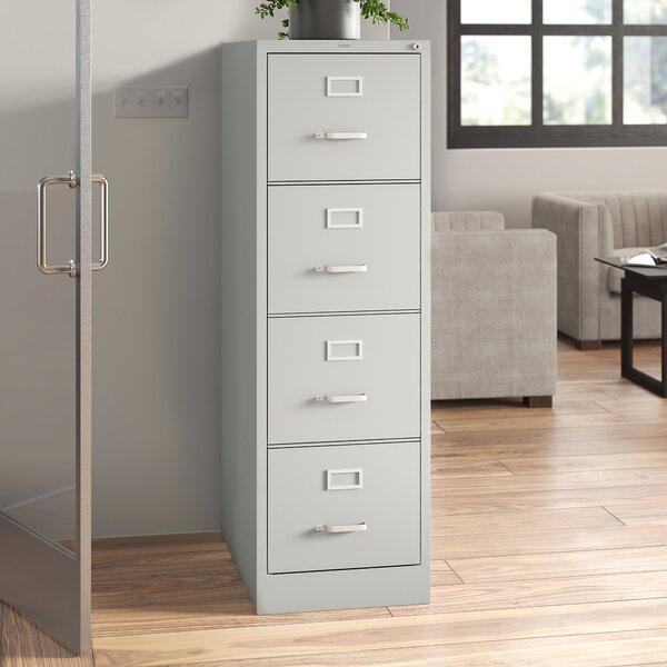 4-Drawer Vertical Filing Cabinet