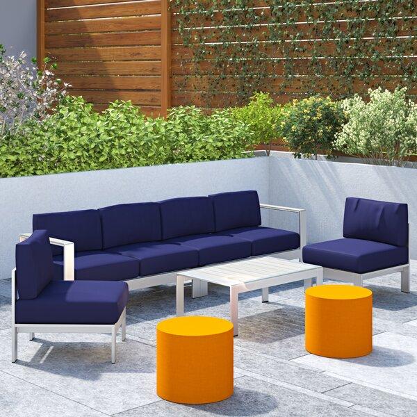 Coline 5 Piece Sofa Set with Cushions by Orren Ellis