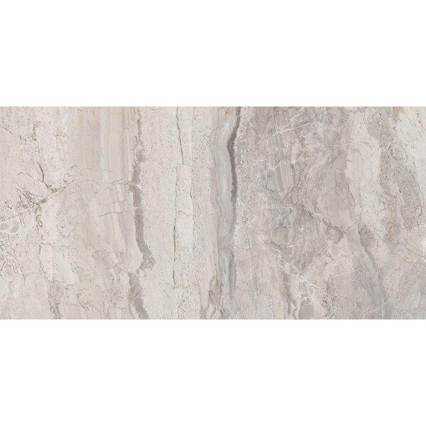 Amalfi 12 x 24 Ceramic Field Tile in Bianco Scala by Interceramic