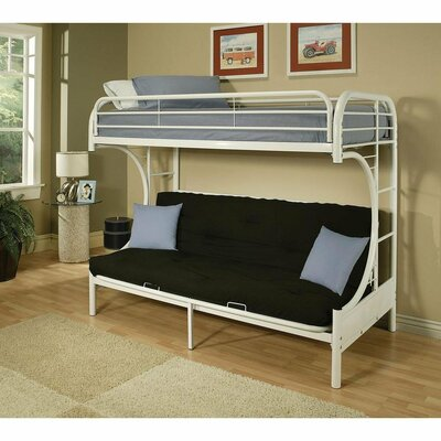 Kelm Futon Twin Bunk Bed Zoomie