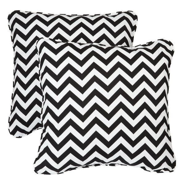Middletown Indoor/Outdoor Throw Pillow (Set of 2) by Mercury Row