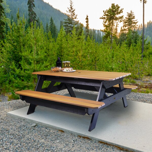 Maura Picnic Table by Rosecliff Heights