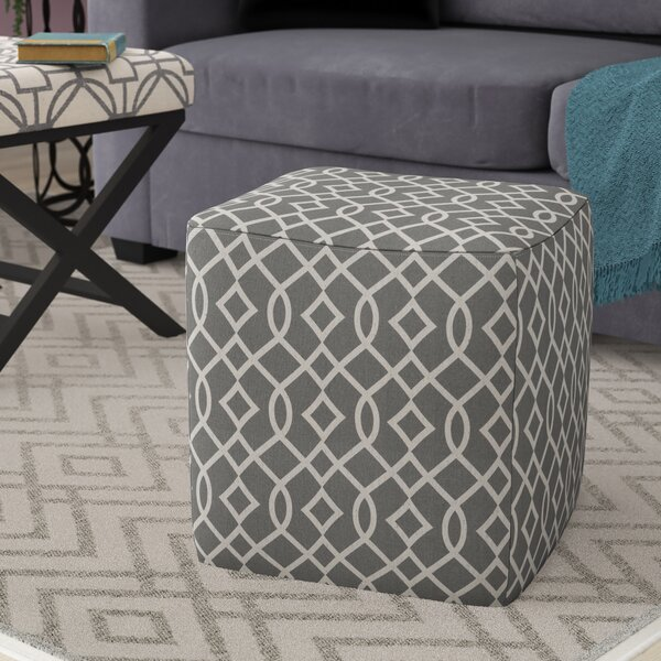 Preas Pouf Ottoman by Wrought Studio