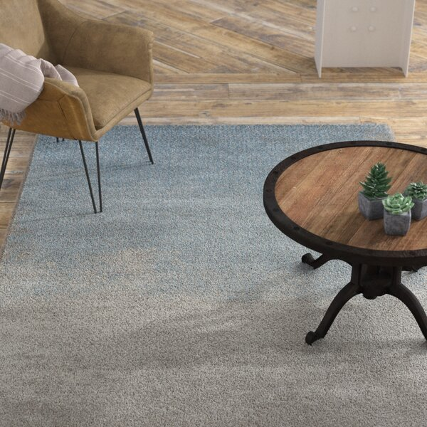 Mcmillin Diamond Blue Area Rug by Williston Forge
