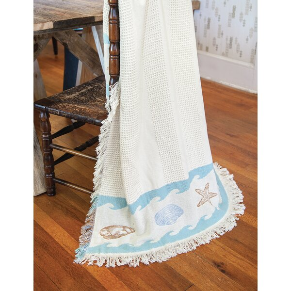 Shore Thing 2 Layer Cotton Throw by Manual Woodworkers & Weavers