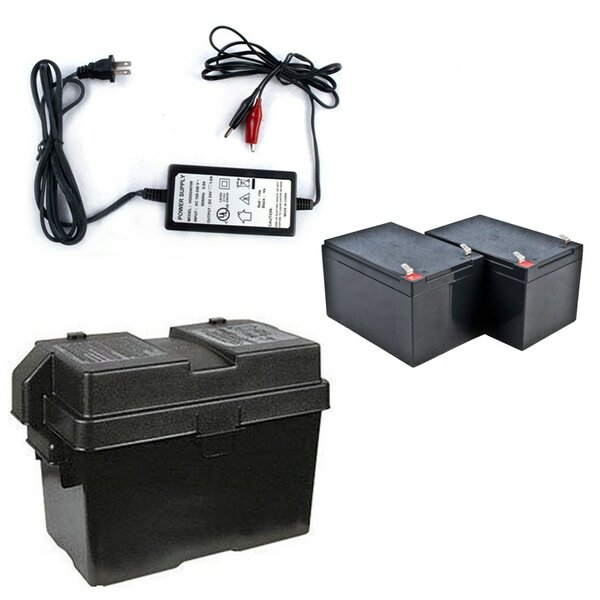 Back Up Kit for 24V DC Applications by ALEKO