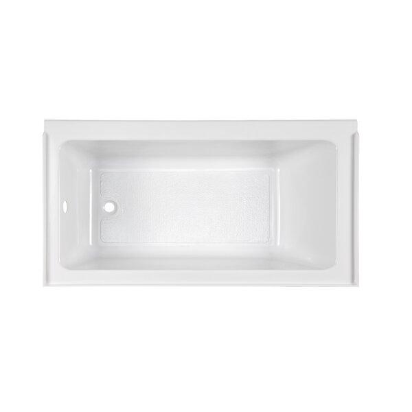Studio Fold Over Edge 60 x 30 Alcove Soaking Bathtub by American Standard