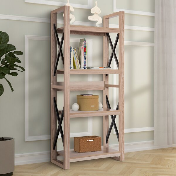 Dematteo Plant Flower Etagere Bookcase By Foundry Select