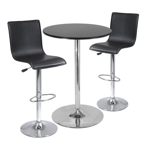 Garstang 3 Piece Pub Table Set by Latitude Run