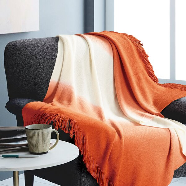 Holler Ombre Throw by Wrought Studio