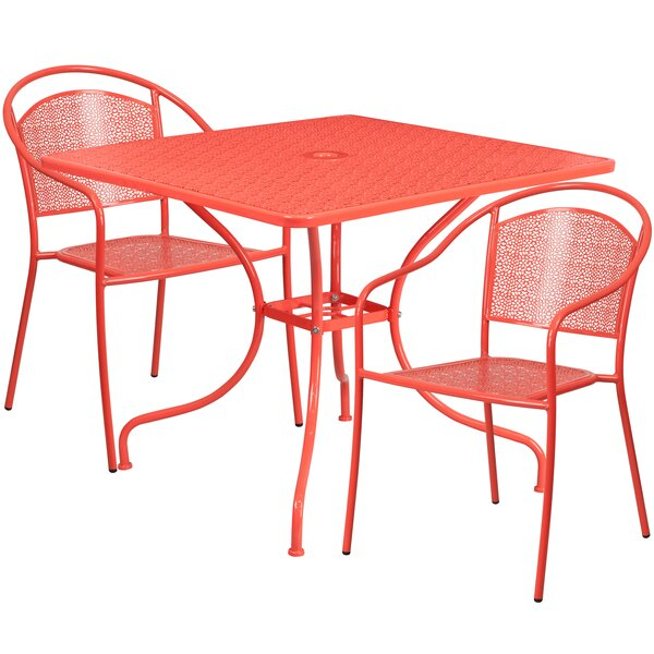 Kasi 3 Piece Bistro Set by Zipcode Design
