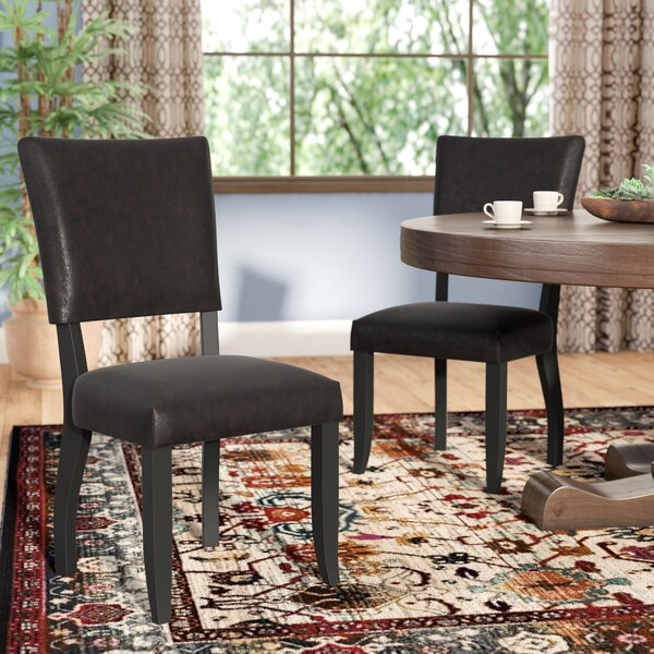 Gino Upholstered Dining Chair (Set of 2) by Mistana