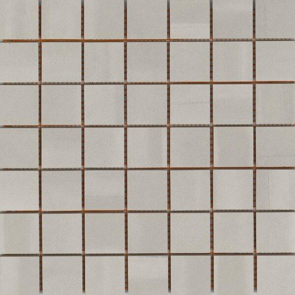 Silhouette 2 x 2 Porcelain Mosaic Tile