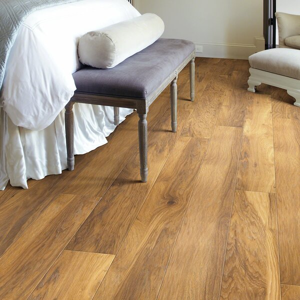 Mont Blanc 8 x 79 x 10mm Hickory Laminate Flooring in Peak by Shaw Floors