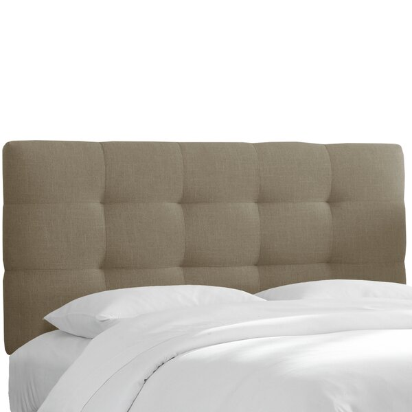 Claudia Upholstered Panel Headboard by Skyline Furniture