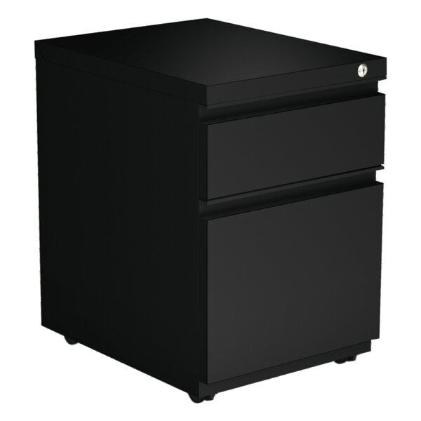Caulfield 2-Drawer Vertical Filing Cabinet by Symple Stuff