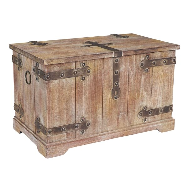 Large Victorian Storage Trunk by Household Essenti