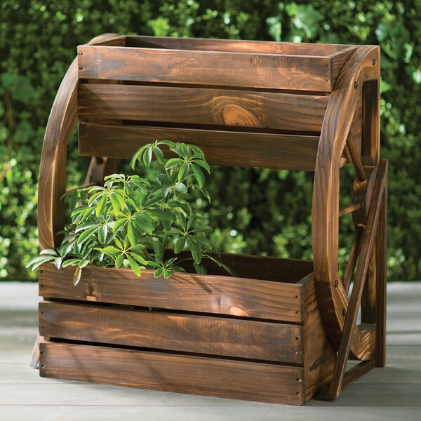 2 ft. x 1 ft. Fir Wood Raised Garden Planter by Wildon Home ®