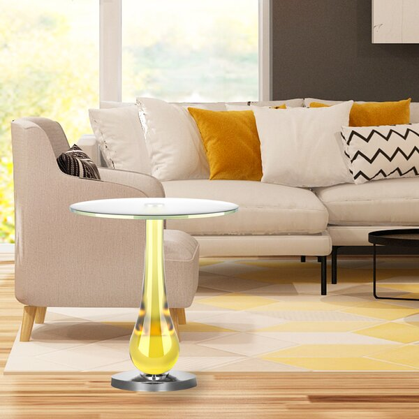 Raul End Table by Orren Ellis
