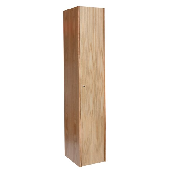 Club 1 Tier 1 Wide School Locker by Hallowell
