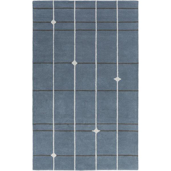 Mod Pop Hand-Tufted Gray/Blue Area Rug by Bobby Berk Home