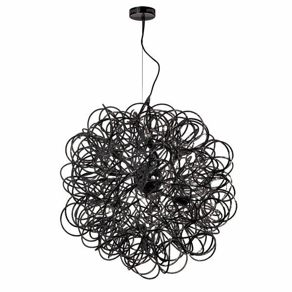 Kash 8-Light Globe Chandelier by Wade Logan