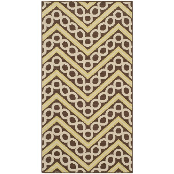 Hampton Chevron Outdoor Area Rug by Safavieh