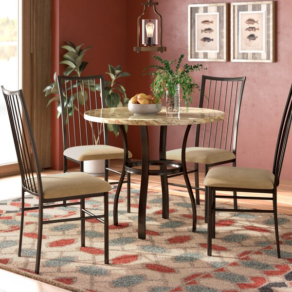 Roopville 5 Piece Dining Set By Winston Porter