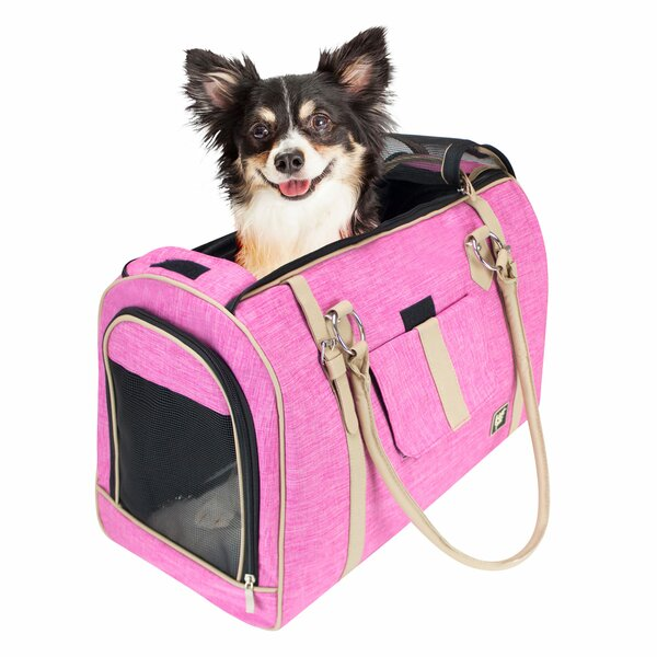 Heyman Soft Airline Approved Stylish Pet Carrier b