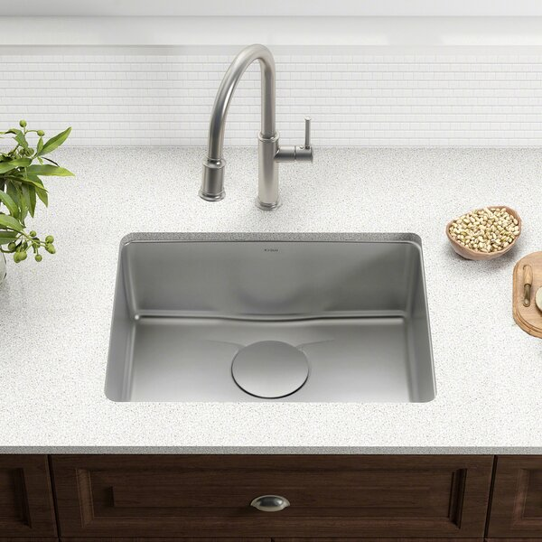 Dex™ Series 25 x 19 Undermount Kitchen Sink by Kraus