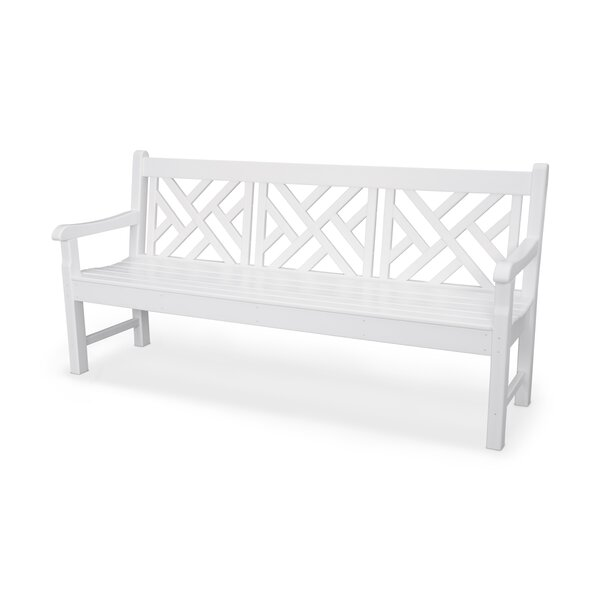 Rockford Chippendale Plastic Garden Bench by POLYWOOD®