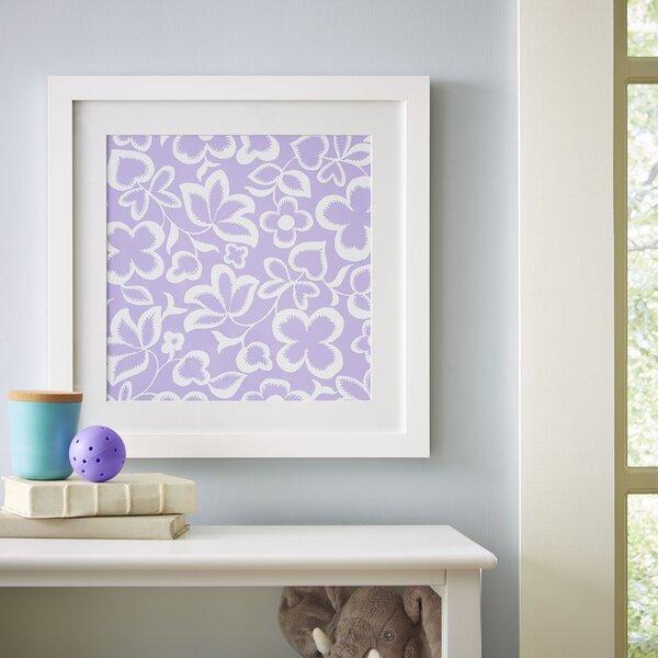 Flower Field Framed Print II by Birch Lane Kids™