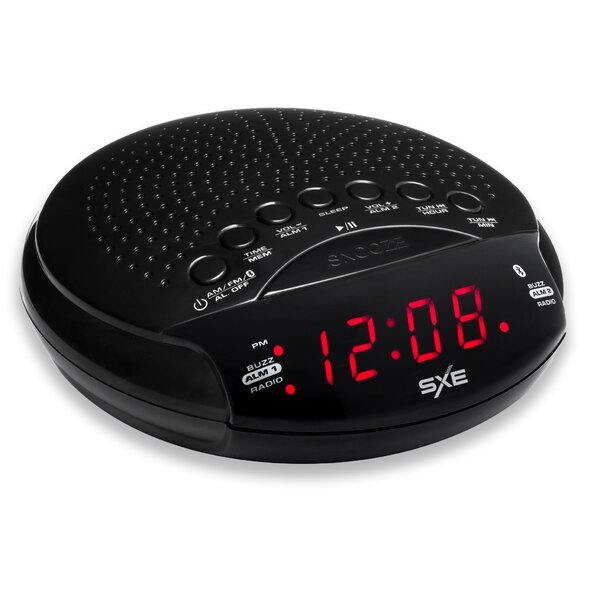 Bluetooth Speaker and Radio Alarm Clock by Zipcode Design