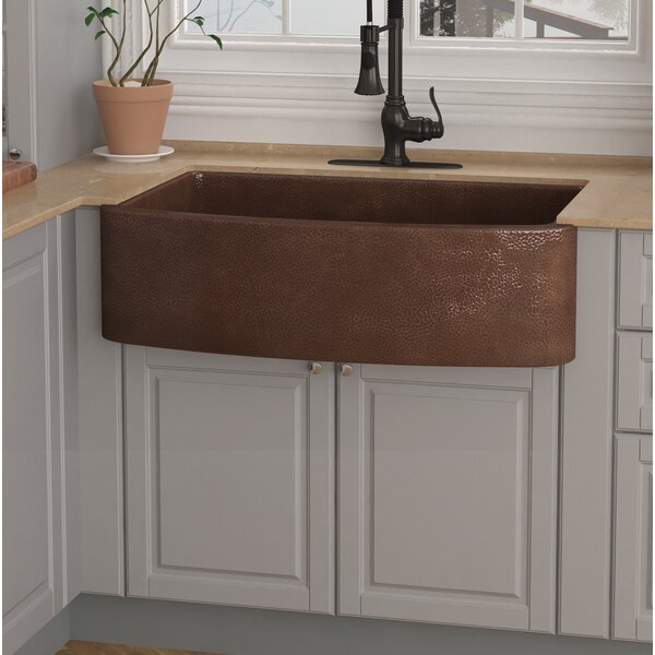 Terra 33 X 22 Farmhouse Kitchen Sink With Basket Strainer And Basin Grid By Anzzi.