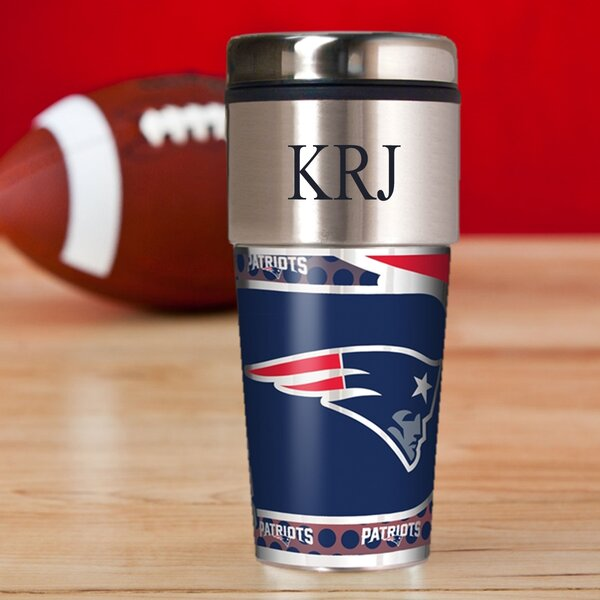 Personalized Patriots Travel Mug by JDS Personalized Gifts