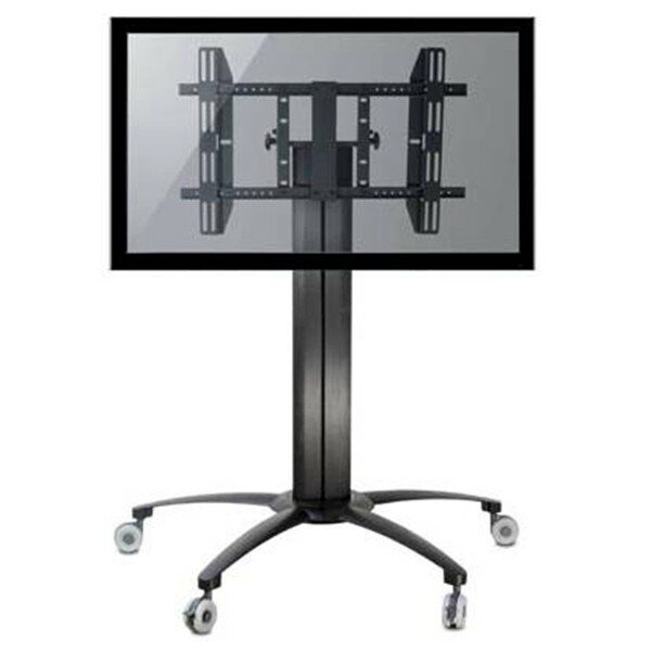 TygerClaw Mobile TV Floor Mount for 32-55 Flat Panel Screens by Homevision Technology
