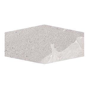 Misty Harbor 9.5 x 19.25 Hexagon Field Tile in Gray by Kellani