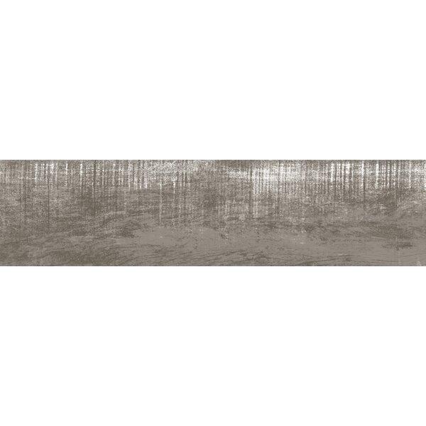 Lakewood 8 x 34 Porcelain Field Tile in Gray by Emser Tile