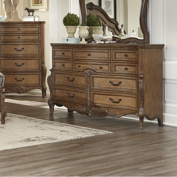 Petti 10 Drawer Double Dresser by Astoria Grand