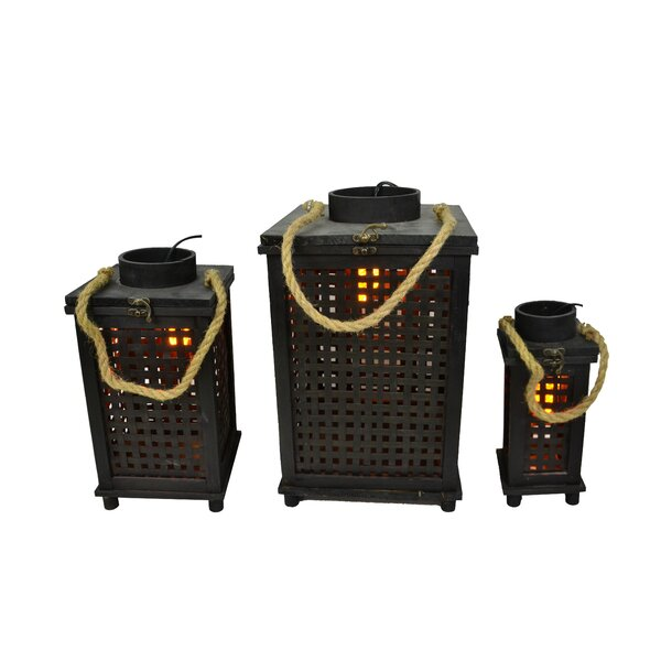 3 Piece Metal Lantern Set by Fantastic Craft