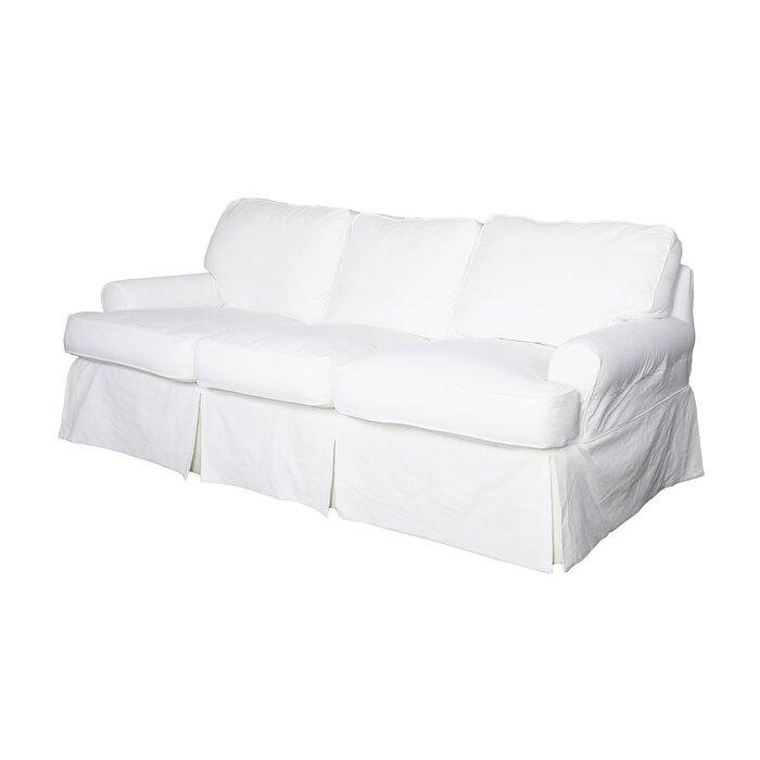 Rundle T-cushion Sofa Slipcover