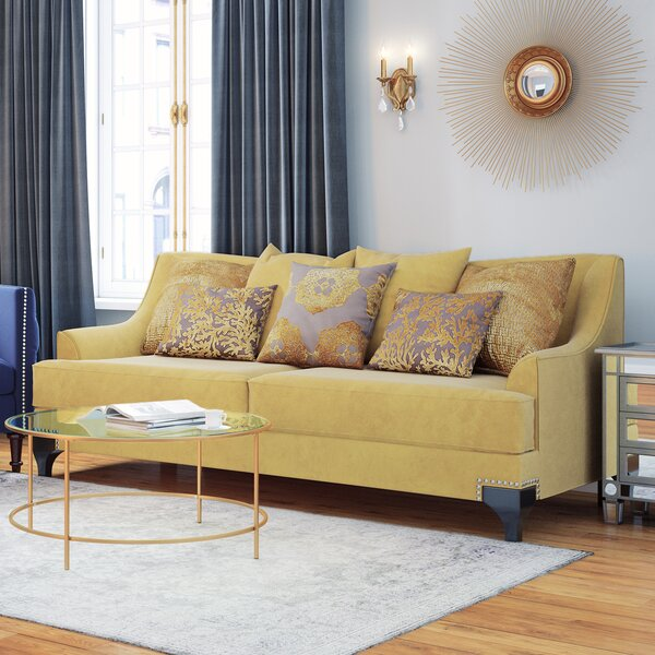 Top Offers Flvio Premium Sofa by Willa Arlo Interiors by Willa Arlo Interiors