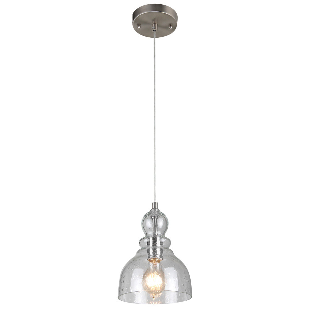 Yarger 1 Light Single Dome Pendant