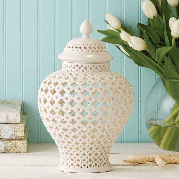 Porcelain Lantern by Mistana