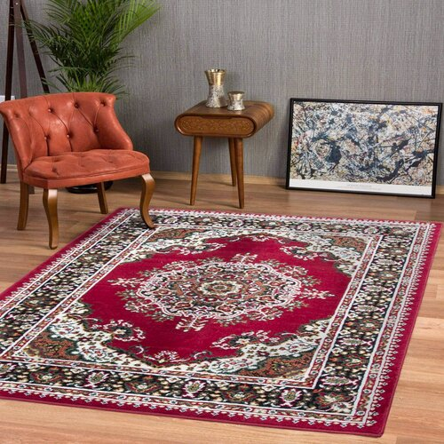 Kevon Tufted Red Rug Marlow Home Co. Rug Size: Runner 60 x 2