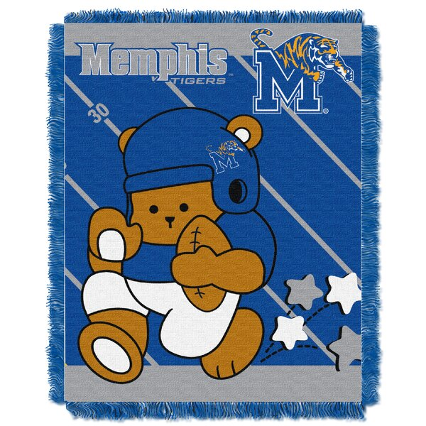 Collegiate Memphis Baby Throw by Northwest Co.