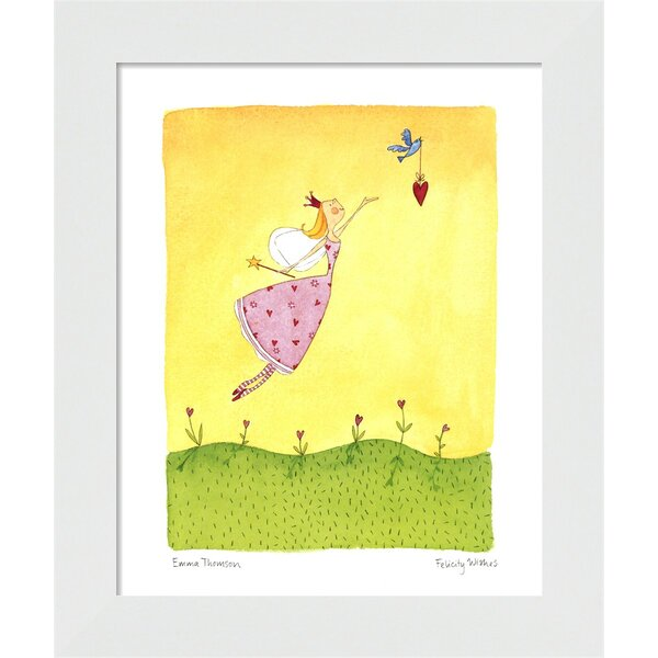 Felicity Wishes II Framed Art by Evive Designs