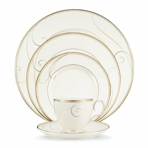 Golden Wave 20 Piece Dinnerware Set, Service for 4 by Noritake