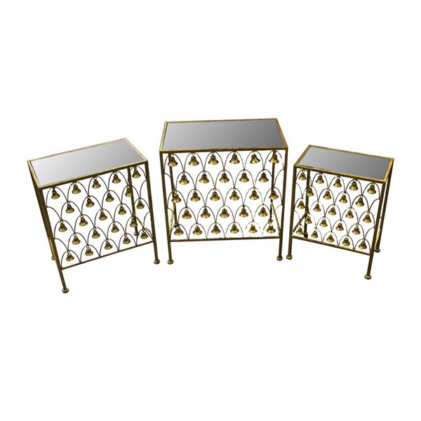 Manya 3 Piece Nesting Tables By Darby Home Co