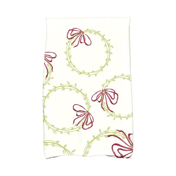 Briese Simple Wreath Hand Towel by The Holiday Aisle